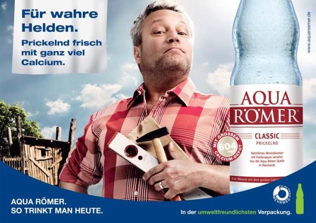 Werbung für Aqua Römer Classic